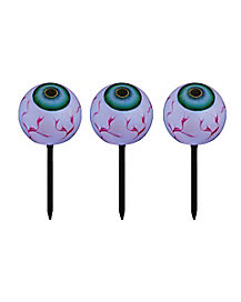 15 in LED Scary Eyeball Lawnstakes - Decorations