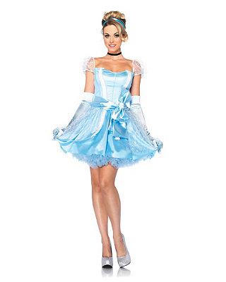 Click Here to buy Disney Princess Cinderella Adult Costume from Spirit Halloween