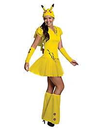 Pikachu Adult Womens Costume