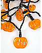 Orange LED Pumpkin String Light