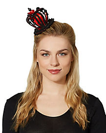 Black and Red Queen Crown