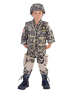 Kids Geared US Army Costume