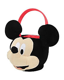 Disney Mickey Mouse Plush Bucket