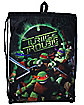 Turtle Trouble TMNT Cinch Bag - Teenage Mutant Ninja Turtles