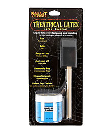 Blue Liquid Latex and Brush Kit - 2 oz