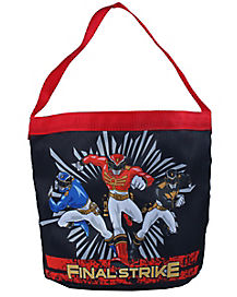 Power Rangers Final Strike Bucket Tote