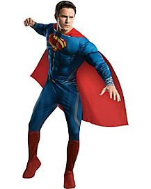 Man of Steel Superman Deluxe Adult Mens Costume