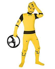 Kids Skin Suit Crash test Dummy Costume