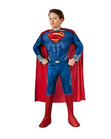 Kids Light-Up Superman Costume Deluxe- Superman Man of Steel