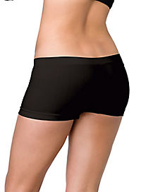 Black Plus Size Boyshorts
