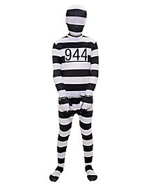 Kids Prisoner Jumpsuit Costume