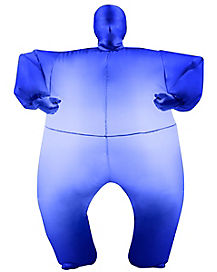 Kids Blimpz Light Up Blue Inflatable Costume