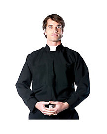 Priest Long-Sleeve Adult Mens Shirt