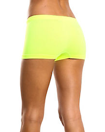 Neon Yellow Boyshorts