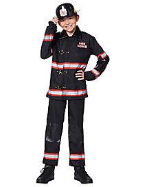 Kids Fireman Costume - Deluxe