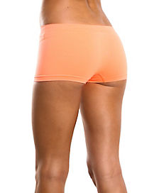 Neon Orange Boyshorts