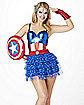 Captain America Corset - Captain America