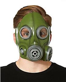 Green Anti Gas Mask