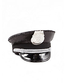 Police Sequin Hat