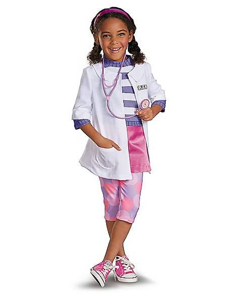 Toddler Doc Mcstuffins Costume Doc Mcstuffins