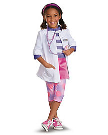 Doc Mcstuffins Girls Costume
