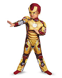 Toddler Mark 42 Iron Man Costume - Marvel