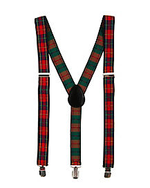 Plaid Suspenders