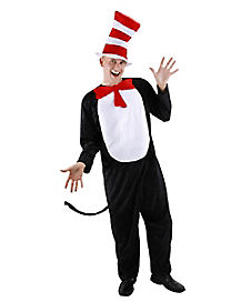 Adult  Cat in the Hat Costume - Dr Seuss