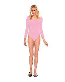 Girls Pink Bodysuit