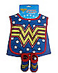 Wonder Woman Caped Bib Set - DC Comics