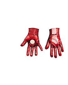 Kids Iron Patriot Gloves - Iron Man