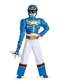 Kids Blue Ranger Costume - Power Rangers Megaforce