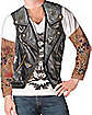Tattoo Sleeved Biker T-Shirt