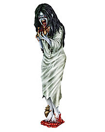 3 ft Cut Out Zombie Girl - Decorations