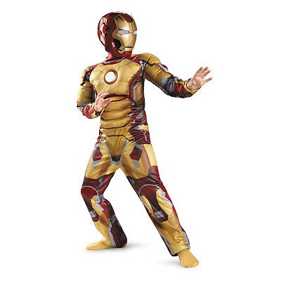 Iron Man Mark 42 Light-Up Child Costume