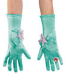 Sparkle Ariel Gloves - Disney Princess