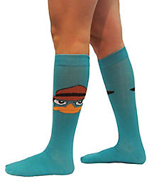 Phineas and Ferb Perry Knee High Socks