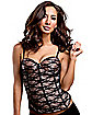 Nude Laced Black Corset