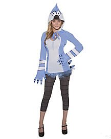 Regular Show Mordecai Adult Womens Costume