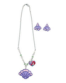 Disney Princess Ariel Necklace Set