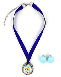 Disney Cinderella Necklace Set