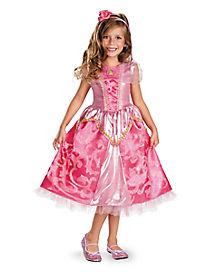 Kids Aurora Costume - Disney Princess