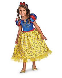 Kids Snow White Costume Deluxe - Disney Princess