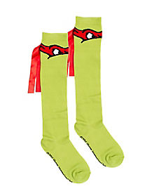 Raphael Knee High Socks - TMNT