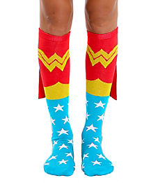 Caped Wonder Woman Socks - DC Comics
