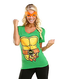 Teenage Mutant Ninja Turtles T-Shirt with Masks