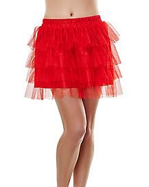 Tutu Skirt - Red