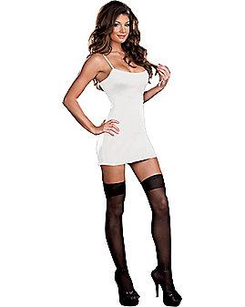 Basic White Tank Dress