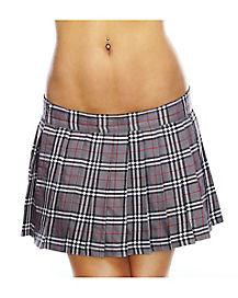 Grey School Girl Skirt