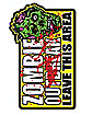 Zombie Outbreak Magnet